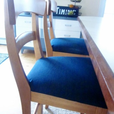 Finding the Perfect Fabric to Recover Chairs