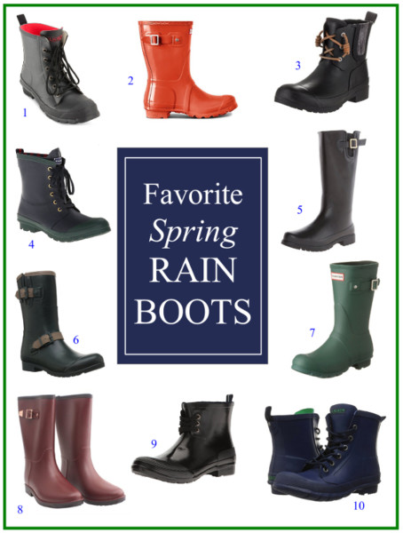 Rain Boot Roundup