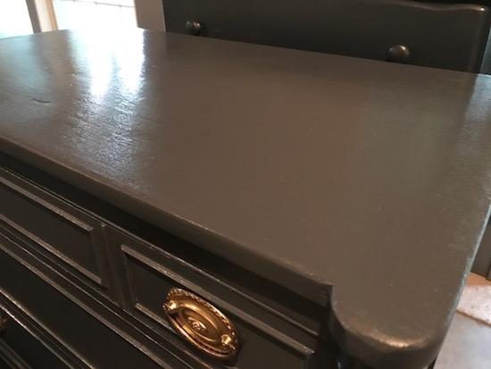 Antique Abyss Blue Dresser