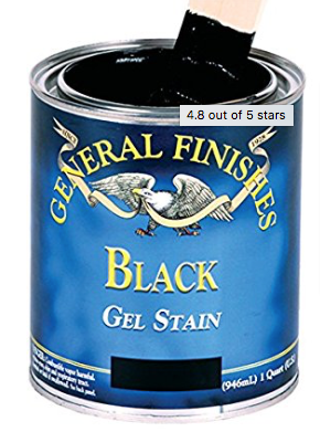 General Finishes Black Gel Stain