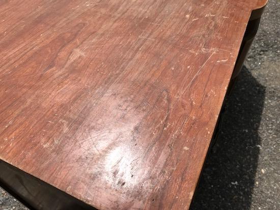 black antique sideboard