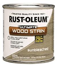 Rustoleum Sunbleached stain