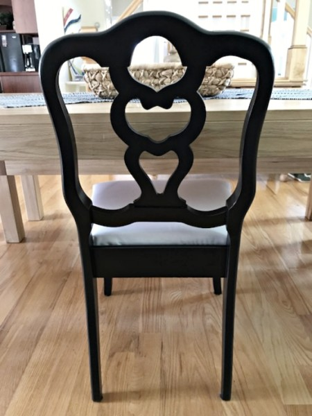 How to Fix a Broken Dining Chair Back, 6 black dining chairs