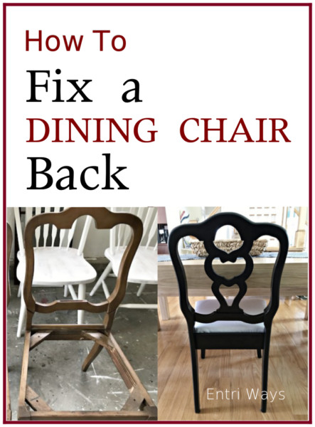 Fix a Dining Chair Back