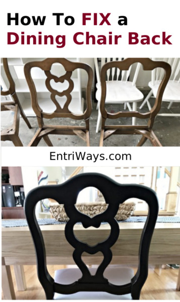 How to Fix a Dining Chair Back