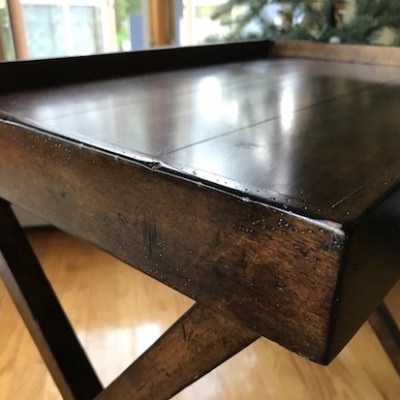 Thrift Store Shopping | A Tuscan Tray Table
