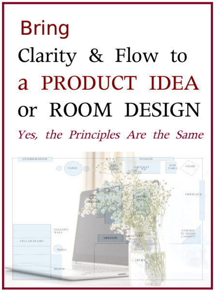 Bring Clarity to a Product Idea or Room Design