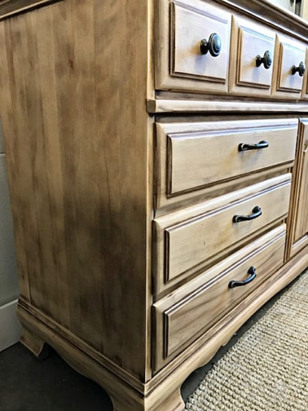 Extra Long naturally-aged old world sideboard