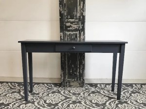 Navy Blue Console Table