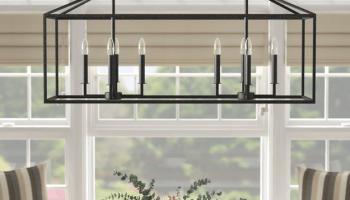 Our New Dining Room Light Fixture, Wayfair Lighting Fixtures Dining Room