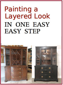 Painting a Layered Look in One Easy Step