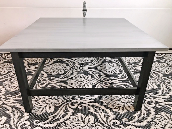 An Ikea Table With A Durable Finish, Can I Refinish An Ikea Table