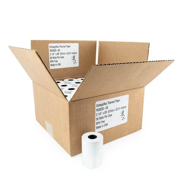 Entorpy-R-us Thermal paper rolls