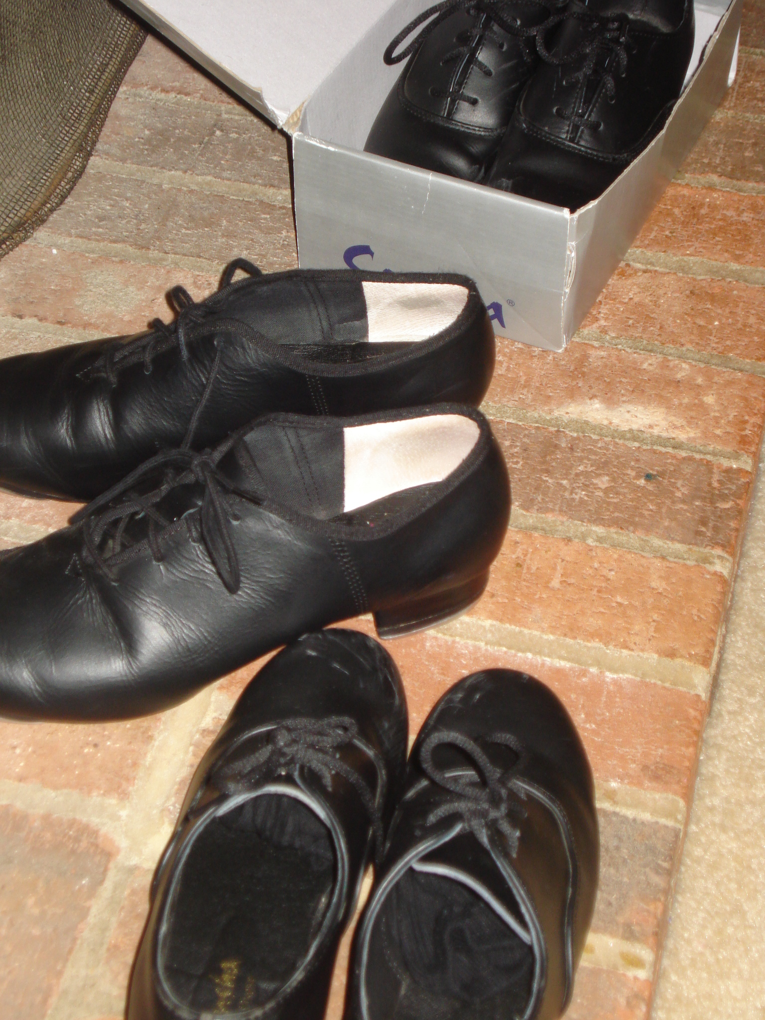 Tap Shoes on the Hearth