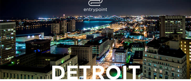 2018 Detroit Entrepreneurial Ecosystem Report cover - square