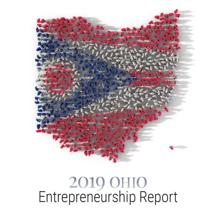2019 Ohio Entrepreneurship Report cover - square