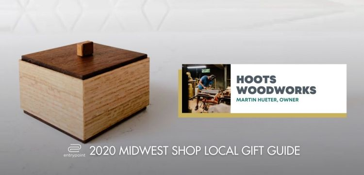 ENTRYPOINT 2020 MIDWEST LOCAL GIFT GIFT GUIDE FOR ADULTS - HOOT WOODWORKS