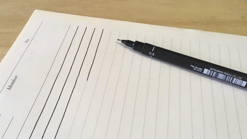 筆記本練習刺青穩定度