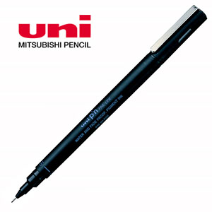uni pin代用針筆