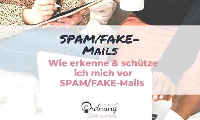 Wie erkenne ich FAKE-Mails?