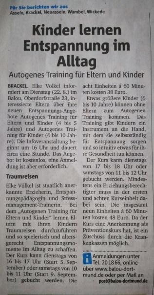 Artikel RuhrNachrichten