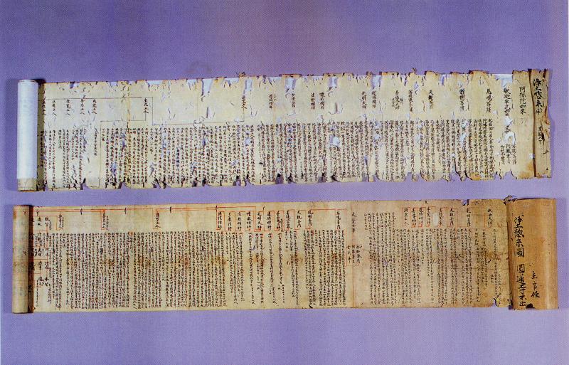 浄土総系図 (じょうどそうけいず) 画像