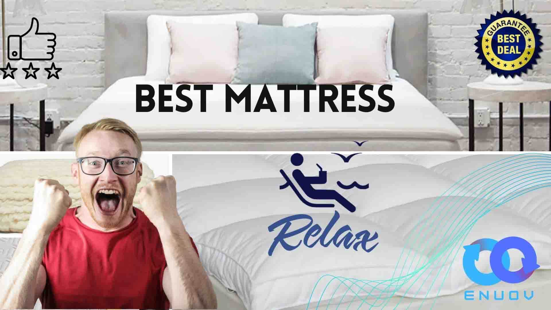 Best Mattress Topper for back pain 2021 with consumer reports including amazon best deal