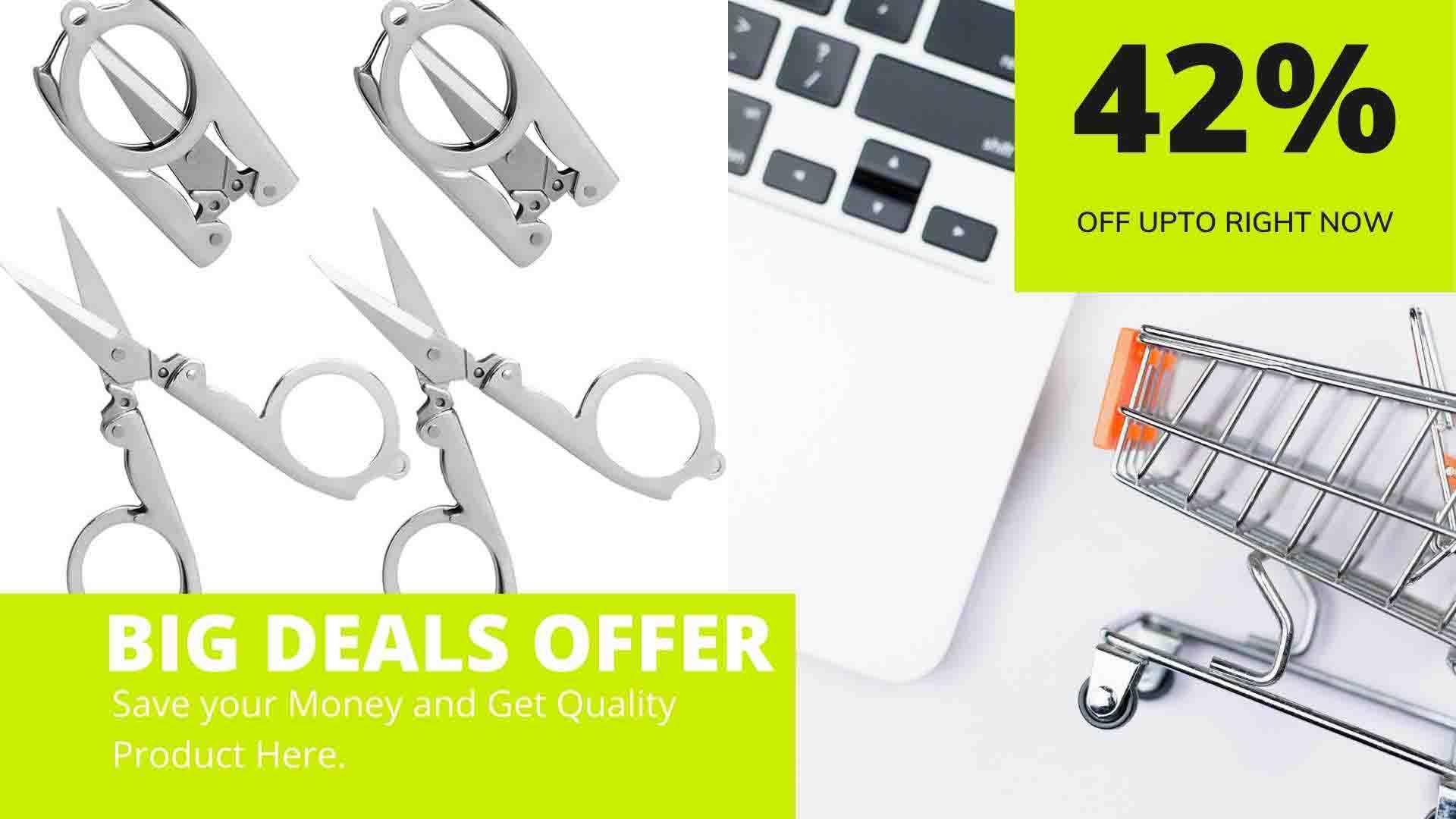 Best Folding Scissors with Huge Discount