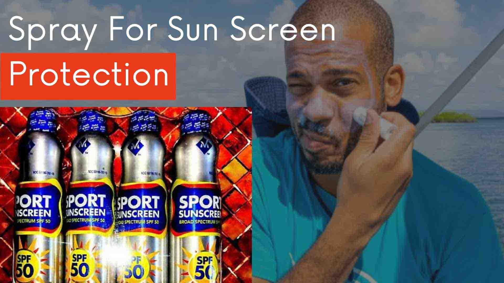 Sport Sunscreen Spray Spf 50 Make Best Sunscreen For Face