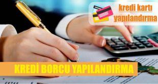 icralik kredi veya kredi karti borcu yapilandirmasi