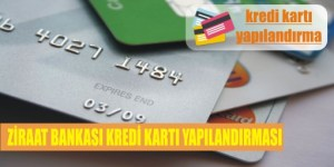 ziraat kredi karti yapilandirmasi