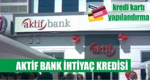 aktif bank kredi