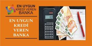 en uygun kredi veren banka hangisi