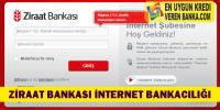 Ziraat Bankası İnternet Bankacılığı