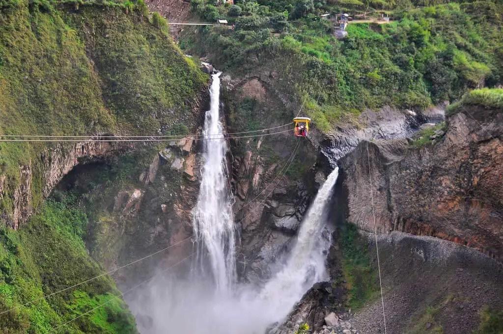 Ecuador Turismo Agua Santa