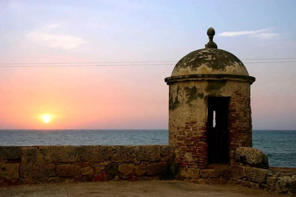 Sitios Turisticos de Cartagena de Indias Murallas
