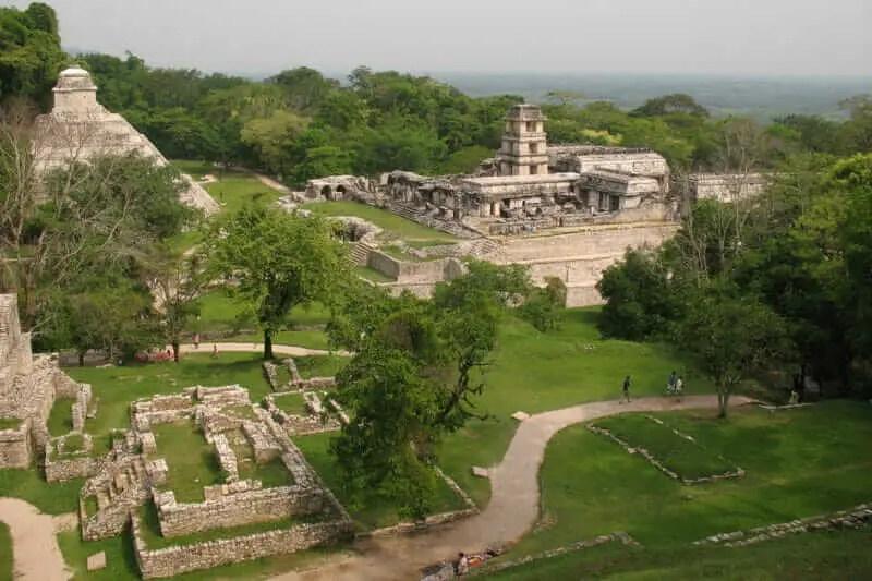 Sitios Arqueologicos de Latinoamerica Palenque