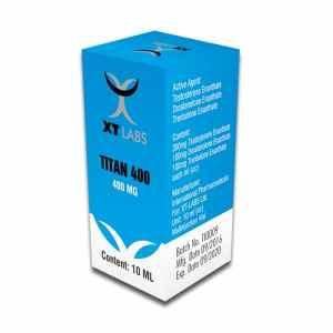 Titan Testosterona Enantato+Drostanolona Enantato+Trembolona Enantato 400mg./10ml.
