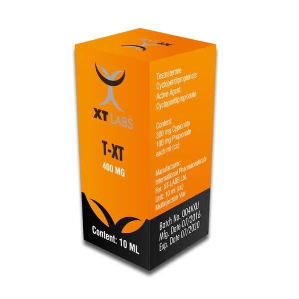 TXT Testosterona Cipionato+Propionato 400mg./10ml.
