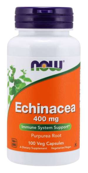 Now Foods - Echinacea 100mg 100veg Caps