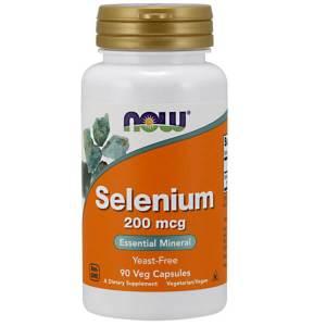 Now Foods - Selenium 200mcg 90veg caps