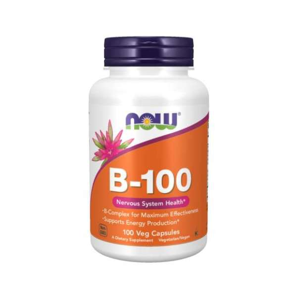 Now Foods - Vitamin B-100 100Vegcaps