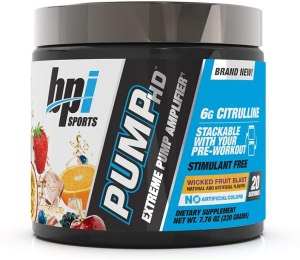 Bpi Sports - Pump HD 20 Servicios.