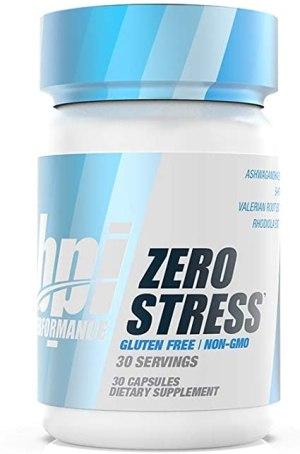 Bpi Sports - Zero Stress 30 Cápsulas. (Reductor de estrés)
