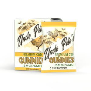Uncle Pete's - CBD Gummies 15MG/5Gummies Pete's