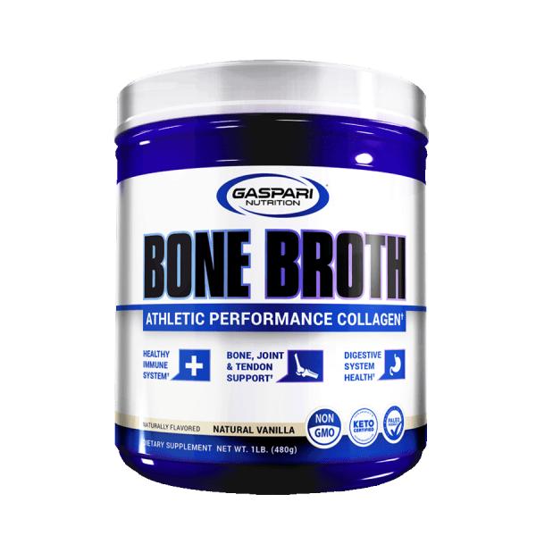 Gaspari Nutrition - Bone Broth 30 Servicios 480gr. Colágeno