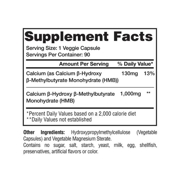 Gaspari Nutrition - HMB 90Cápsulas
