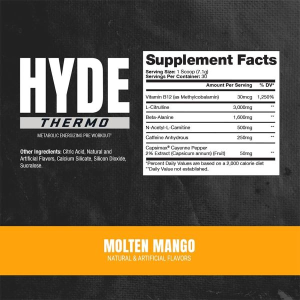 Pro Supps - Hyde Thermo 30 Servicios