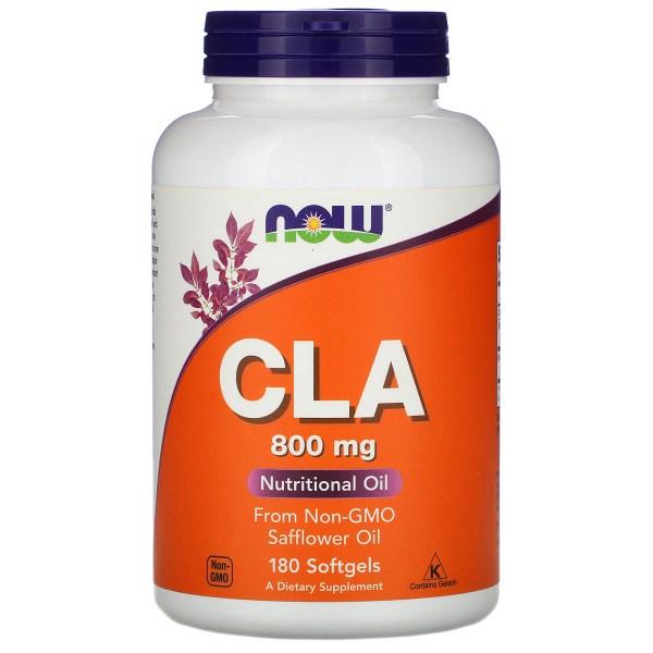 NOW Foods - CLA 800mg 180 Cápsulas.