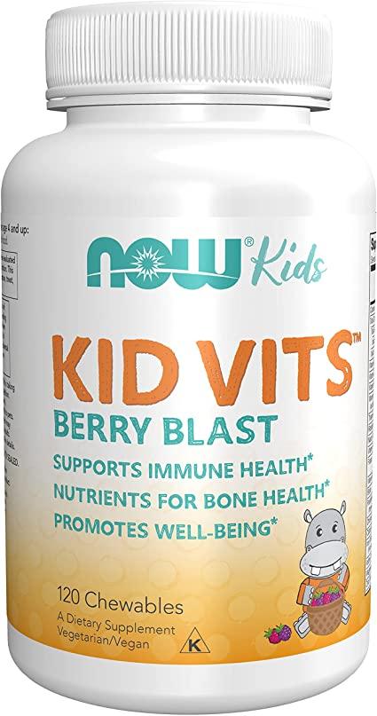 Now Foods - Vits Berry Blast 120 Gomitas. ( Vitaminas para niños)